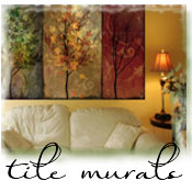 Custom Tile Murals, Custom Tile Floors