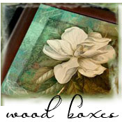 Wooden Keepsake and Jewelry Boxes