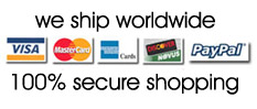 100% secure shopping with authorize.net, secure server. Shop with confidence. Color Bakery accepts Visa, Mastercard, Discover, American Express and PayPal.