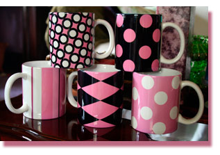 Click here for our new Five-Mug Art Deco Set