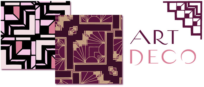 Art Deco Patterns, Art Nouveau Patterns, Art Deco Decor