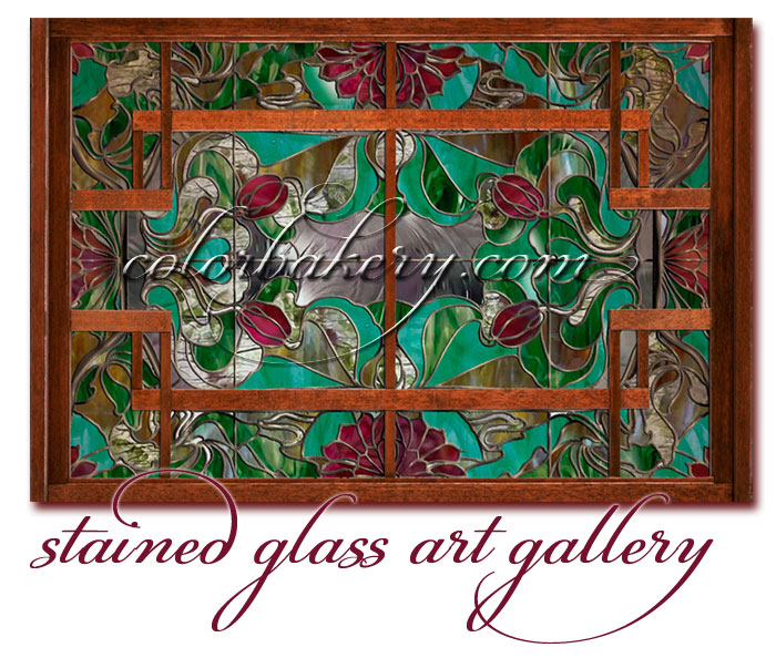 Stained Glass Art Gallery, Color Bakery