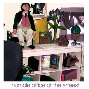 Mindy's Office; click image to see full-size squalor;)