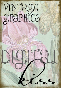 Gorgeous vintage graphics for printing, crafting, scrapbooking and more. Use the art for commercial sales as long as they are non-digital! Awesome art, awesome terms.