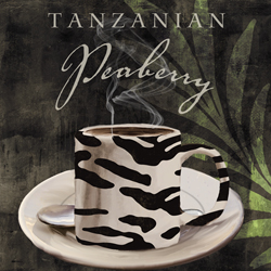 African Coffee Tanzanian Peaberry