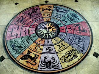 Zodiac Custom Floor Tiles